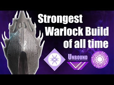 Destiny 2 Forsaken: Strongest Warlock Build of All Time - Unbound - Weapons/Armor/Subclass/Exotics