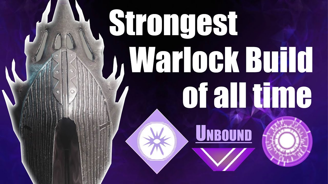 Destiny 2 | Strongest Warlock Build of All Time - Unbound -  Weapons/Armor/Subclass/Exotics