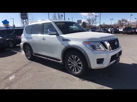 2018 Nissan Armada Reno, Carson City, Northern Nevada, Roseville, Folsom, NV A6048