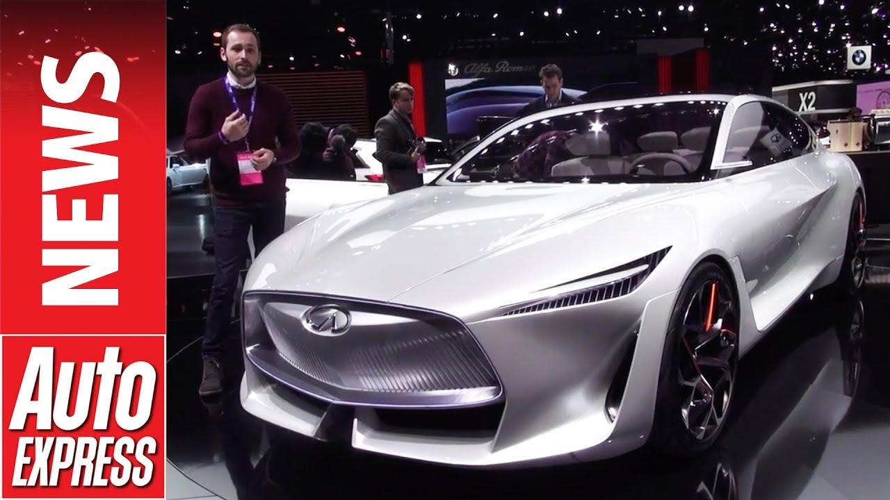 Infiniti Q Inspiration Concept dazzles at Detroit Motor Show - Dauer: 58 Sekunden