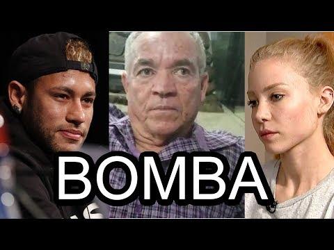 URGENTE: Pai de Najila Trindade fala pela primeira vez, defende filha e ataca Neymar