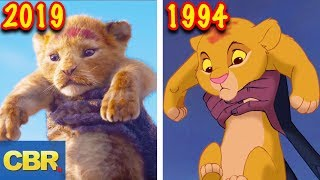 The Lion King 2019 VS Original 1994 Shot By Shot Comparison