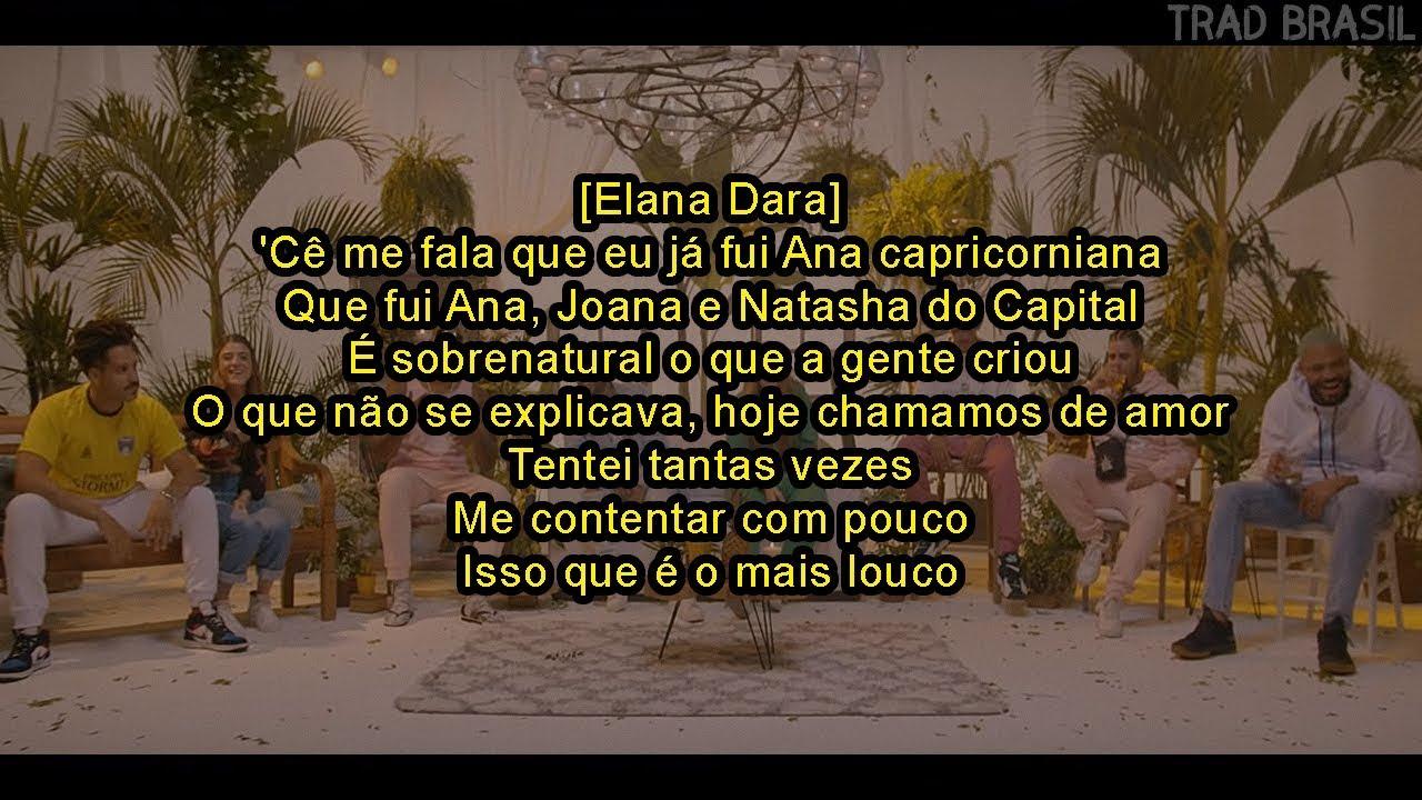 Poesia Acústica #8 - Amor e Samba (LETRA) -Cesar Mc|Elana