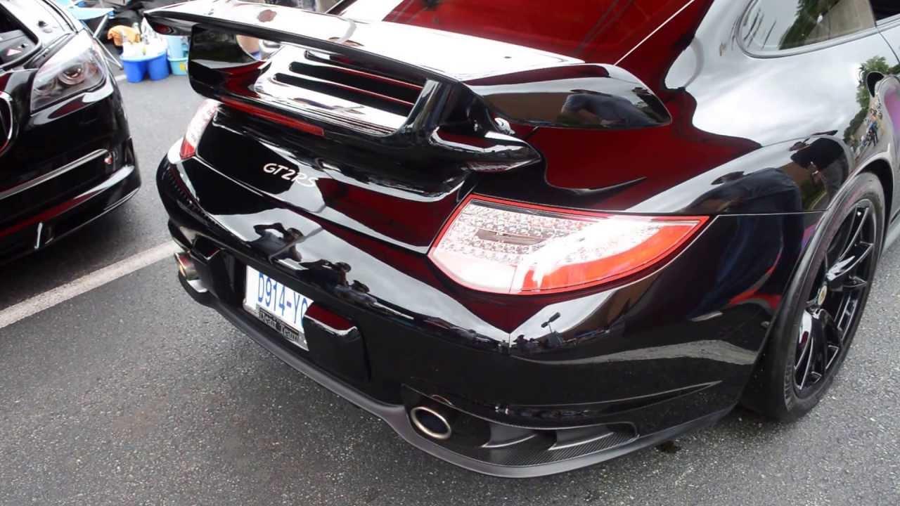 Porsche 911 Gt2 Rs Start Amp Rev Youtube