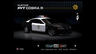 NFS Hot Pursuit 2 (PS2) - Regional cops skins and unused traffic cars