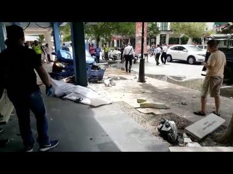 Pelancong Perancis maut dirempuh kereta