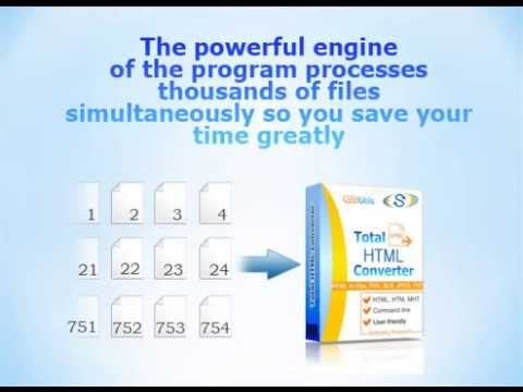 Total Html Converter video tutorial: Why Consumers Choose Total Html Converter-Cool Utils