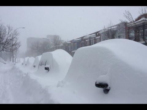 Rolé no Canadá  Tempestade de neve!