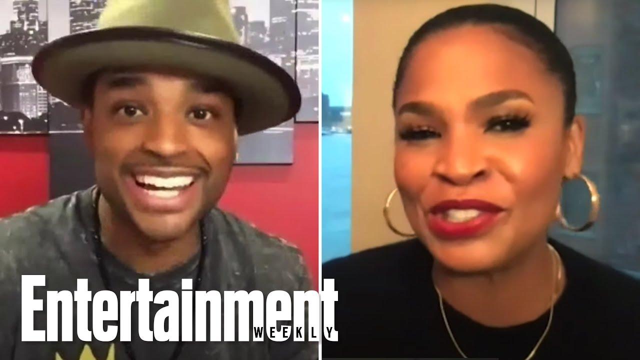 Larenz Tate & Nia Long Answer Questions About'Love Jones' | :Blackprint