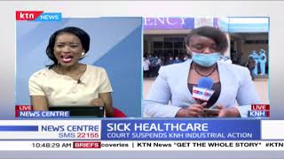 Sick healthcare: Workers demand better salaries