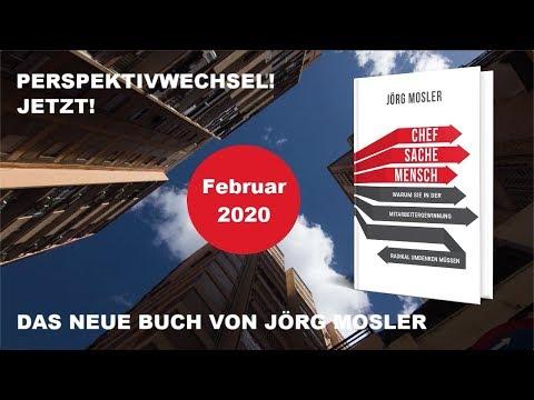Buchtrailer Chefsache Mensch - Buchstart Februar 2020