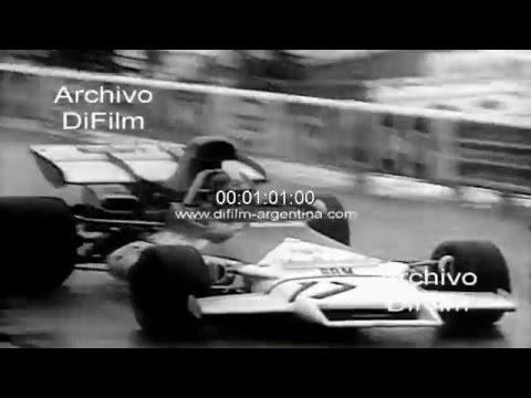 DiFilm - Jean Pierre Beltoise gana el GP de Monaco 1972