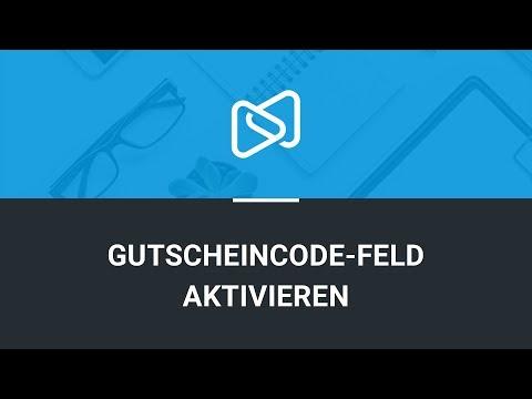Gutscheincode-Feld Aktivieren