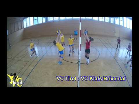 Volleyball Club Tirol VCTirol u13w Spielimpressionen 17.1.2016
