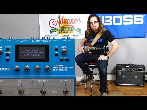 Boss SY300 Guitar Synth Demo w Austin Sandick