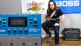 boss sy 300 guitar synth demo w austin sandick