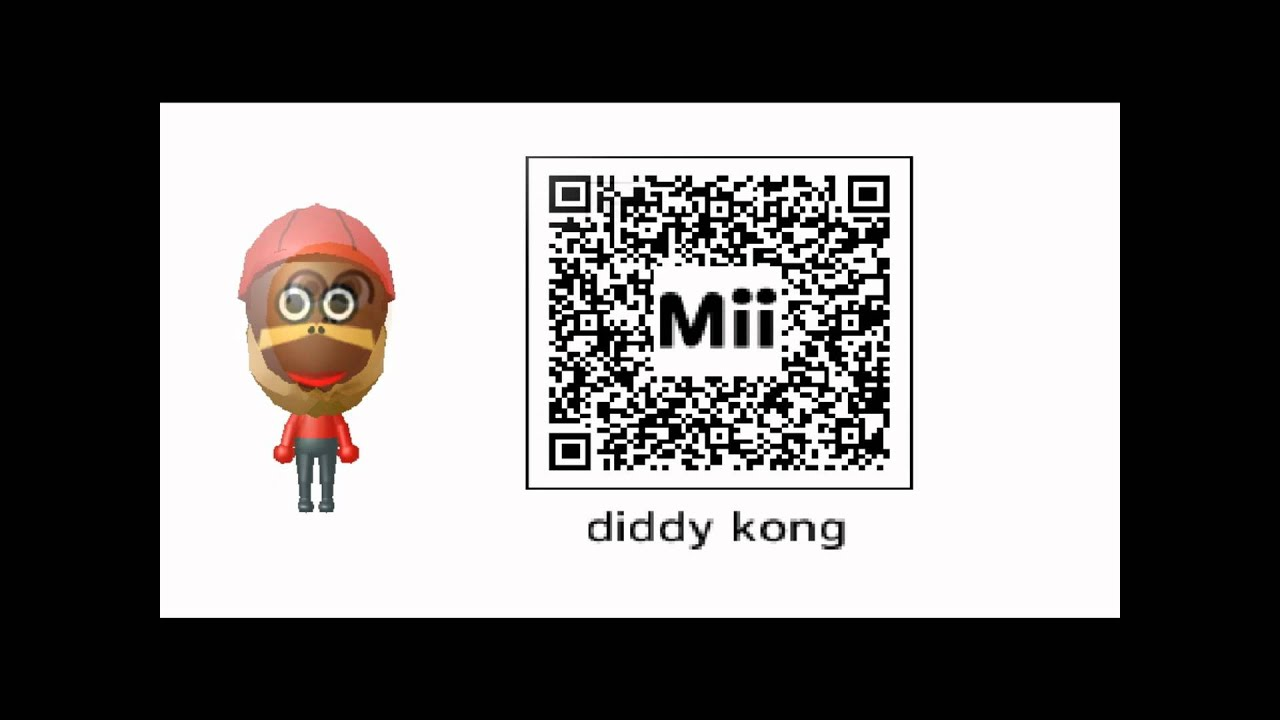 Cool Mii QR Codes