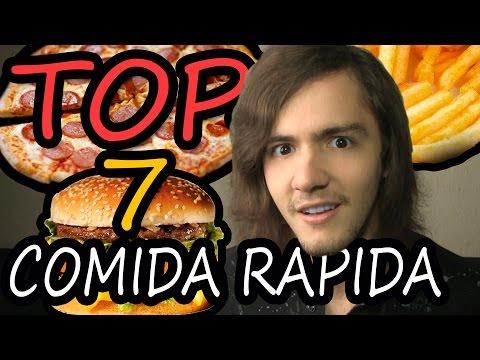TOP 7 - Comida Rapida mas Sabrosa del Mundo