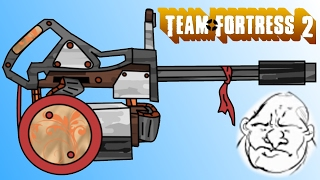TF2: Heavy's Early Weapon Concepts