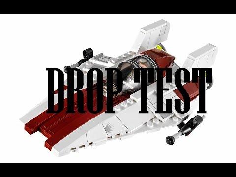 LEGO Star Wars A-Wing Drop Test (75003)