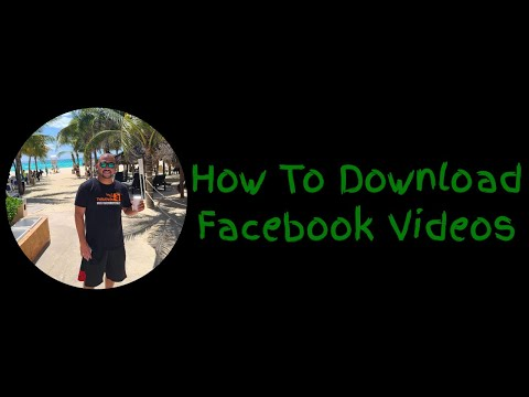 How To Download A Facebook Video To Your Computer 2020 - 2021