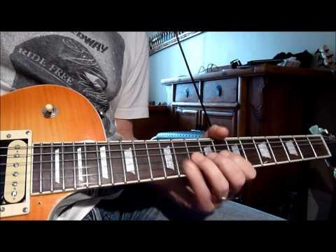 Santana Europa cover (modern version 2011) with Irongear's tesla shark / rolling mill pickups