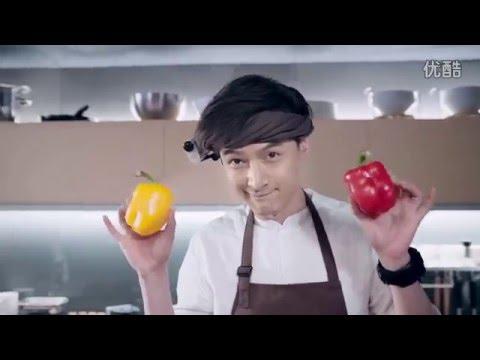 หูเกอ ทำอาหารให้แม่ โฆษณากล้องโซนี่ เนื่องในวันแม่จีน 20160508