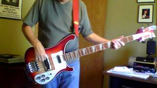 Counting Out Time - Genesis bass guitar cover.MOV