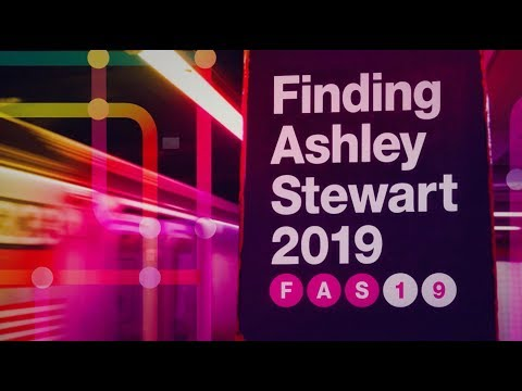 "Don't miss ""FINDING ASHLEY STEWART 2019"""