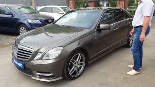 Mercedes-Benz E-klasse IV (W212, S212, C207)/2012г./3.5 AT (249 л.c.)/96 000 км/Задний