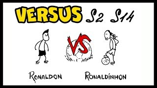 VERSUS — Ronaldon vs Ronaldinhon | Versus