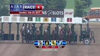 Ajax Downs July 23, 2017 Race 4