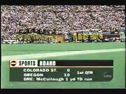 1996 Michigan at Colorado