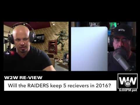 Raiders top 5 Training Camp Questions, Clive Walford, Jihad Ward, Karl Joseph, TJ Carrie,