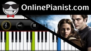 Christina Perri - A Thousand Years Part 2 [The Twilight Saga: Breaking Dawn Pt.2] Piano Tutorial