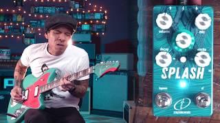 Crazy Tube Circuits Splash Mk4 Reverb pedal - demo by RJ Ronquillo