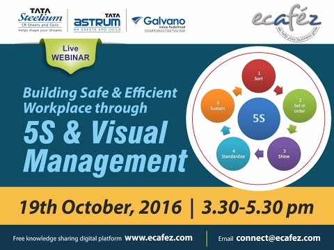 Building Safe & Efficient Workplace Thru 5S & Visual Management