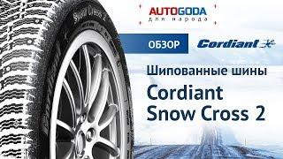 Покрышки Cordiant Snow Cross 2  лучший выбор на зиму! Обзор - Cordiant