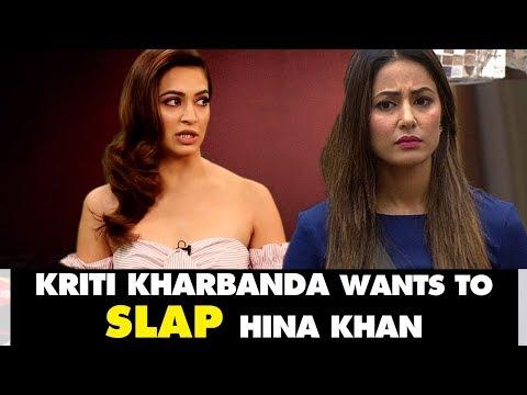 Kriti Kharbanda Wants To SLAP Hina Khan For Her 'BULGING' Comment On South Heroines | SpotboyE thumbnail