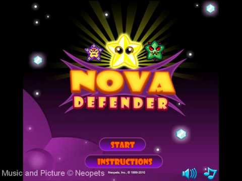 Neopets - Nova Defender Music (Title Screen/In-Game)