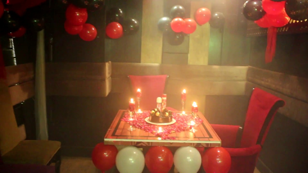Birthday Packages Options An Exotic Restaurant