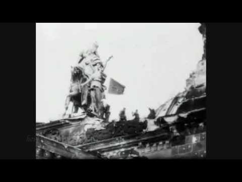 Soviet Flag over the Reichstag Building 1945