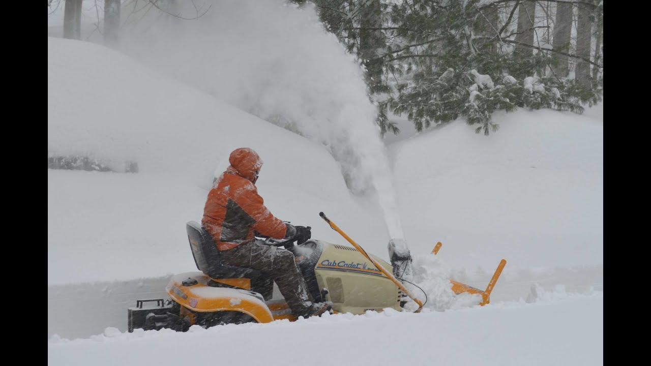 Cub Cadet Snow Blower Attachment
