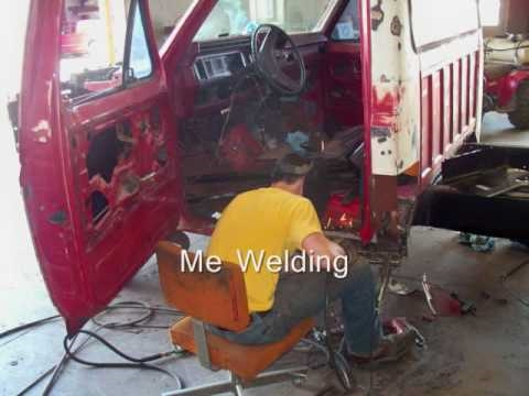 1985 Ford F250 Restoration Prt 1  YouTube