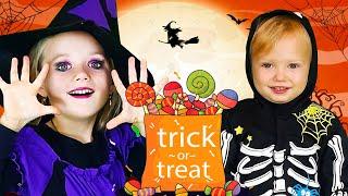 Knock Knock Trick Or Treat?   Halloween song   Nursery Rhymes & Kids Songs by Olivia Kids Tube