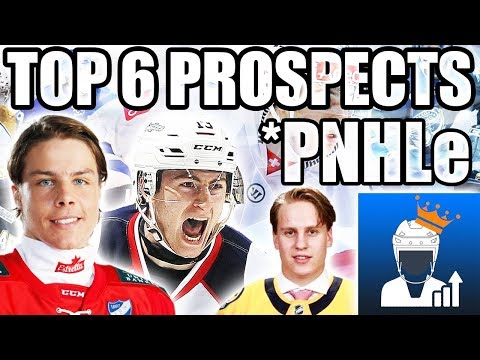The Top 6 NHL Prospects According To PNHLe (Best NHL Prospects - Projected NHL Equivalency)