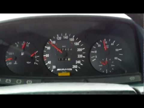 Mercedes W123 300D acceleration 0-100