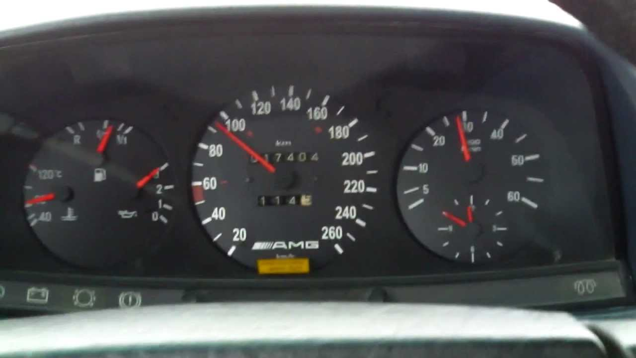 Mercedes W123 300d Acceleration 0 100 Youtube