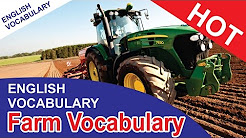 English vocabulary words with meaning | FARM VOCABULARY | English vocabulary