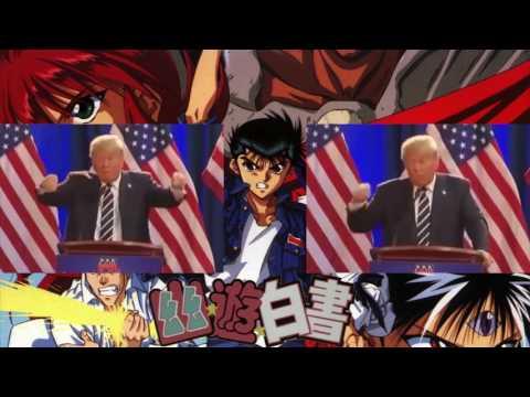 Donald Trump Sings Smile Bomb (Yu Yu Hakusho Opening)